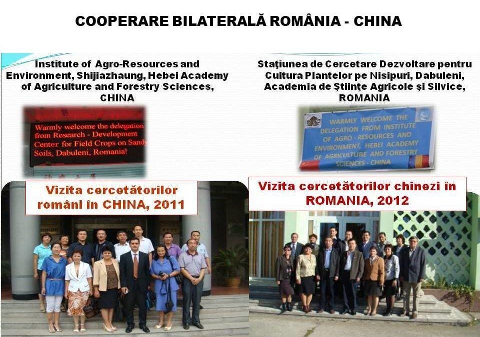 Cooperare bilaterala România – China